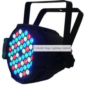China 54x3W LED RGBW Par64 Light on sale