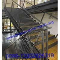 stair balustrade,bridge balustrade,stainless steel balustrade rope mesh,balcony balustrad