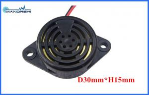 China 3000Hz ABS Piezoelectric Buzzer 24V Active Piezo Buzzer Sound For Car on sale