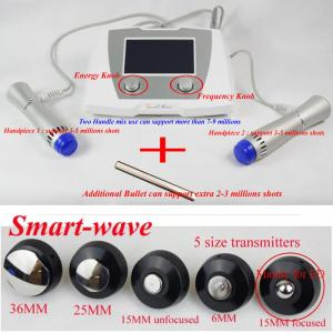 China Low Energy 0.09mJ / Mm2 Shockwave Therapy Machine For Erectile Dysfunction on sale