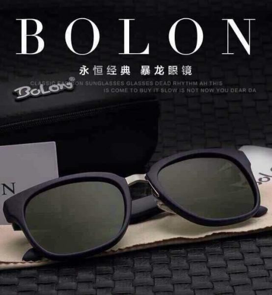 08b7d7bb35 Bolon Sunglasses Accetate Frame with TAC Poloaroid mirror lens 3 colors for  Man Images