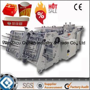 China 180 Boxes Automastic Carton Box Making Machine Prices on sale