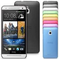 Ultra Thin Washable Transparent Mate HTC Cell Phone Case , HTC One Mini Phone Covers
