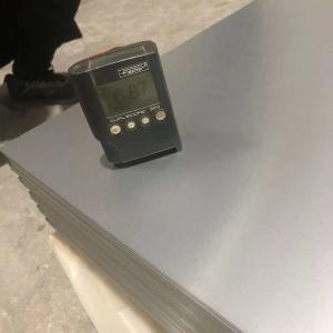 China Anodized 100mm 1050 1060 5052 Aluminum Sheet Anti Fouling on sale