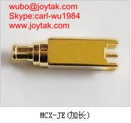 China High quality gold plated MCX plug coaxial connector PCB mount type MCX-JE-L on sale