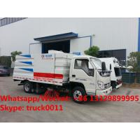 PROMOTION PRICE! High quality and competitive price forland RHD 110hp street sweeper truck for sale, road sweeper