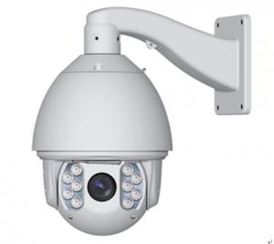 China IR Speed Dome Camera 2 Areas With Adjustable Levels , Outdoor Ip Camera Ptz on sale