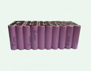 China 10S4P 36V 10.4AH Li-ion battery pack with BMS and charger on sale
