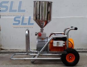 China Room Painting Mortar Spraying Machine 3000w Diaphragm Pump Wall Putty Spray Gun on sale