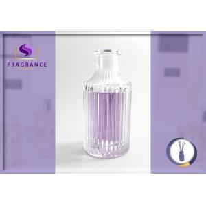 China Beautiful Clear Wax Lyrical Reed Diffuser Bottle 180ml For Home Fragrance on sale