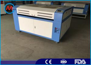 China Sealed Co2 Glass Tube Small Wood Laser Cutting Machine 60w Taiwan Hiwin Guide Rail on sale