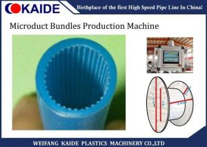 China Europe Standard Micro Duct Pipe Making Pe Pipe Extrusion Line Knet Microduct Solution on sale