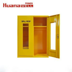 China Chemical Resistance Steel Safety Storage Cabinets Lead - Free Epoxy Powder Coat Finish on sale
