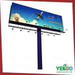 cartelera caliente de Unipole de los muebles del camino de la muestra de la bandera de la carretera de la publicidad 2015