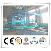 External And Outer Steel Plate Painting / Shot Blasting Machine Customized