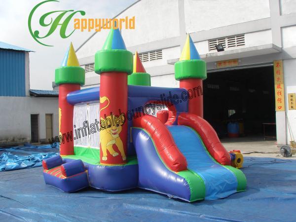 Lion King Hiring Bouncer Slide Combo Small Bouncy Slides Ce Ul