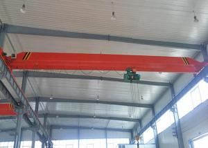 China Industrial Single Girder Overhead Crane Lifting Equipment For Workshop on sale