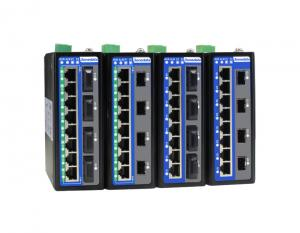 China 12-port Full Gigabit Layer 2 Managed Industrial PoE/non-PoE Ethernet Switch on sale