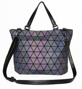China WHOLESALES Shoulder Bag for Women Laser Geometric Tote Handbag Custom Bag and Purses China  Supplier OEM on sale