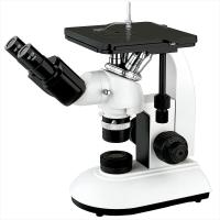 Mechanical Stage Trinocular Inverted Metallurgical Microscope Infinity Optical System