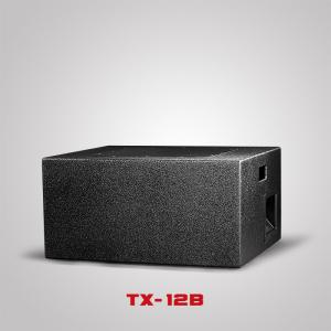 China Touring Sound System Single 12inch Subwoofer 300W plywood Cabinet Dj horn Speaker Sound BoxTX-12B on sale