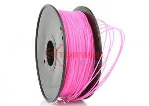 China Pink 3D Printer ABS Filament 1.75mm / 3.00mm , 2.2lb Spool on sale
