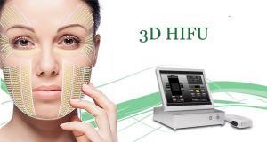 China Ultrasound Ultrasound Face Lift Machine / Non Surgical Hifu Beauty Machine on sale