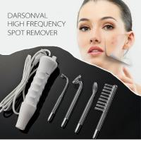 Handheld High Frequency Infrared Darsonval Spot Acne Remover Face Hair Body Skin Care Spa Beauty Acne Treatment Machine
