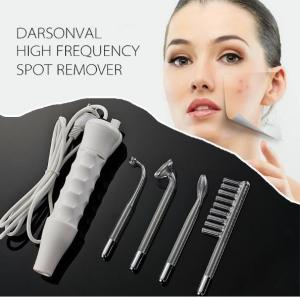 China Handheld High Frequency Infrared Darsonval Spot Acne Remover Face Hair Body Skin Care Spa Beauty Acne Treatment Machine on sale