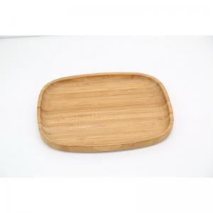 China round bamboo wood serving trays on sale