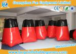 Barricadas vermelhas dos depósitos infláveis gigantes dos jogos do esporte do PVC para 1 * 1 * 1.6m exteriores