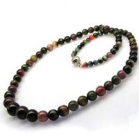 wholeslae 2013 fashion natural tourmaline necklace