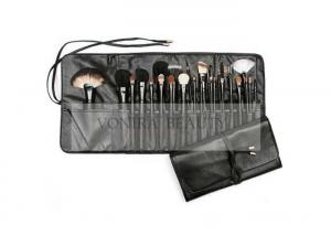 China Artist Complete 27 Pieces Elite Makeup Brushes Collection Set With Foldable Brush Case on sale