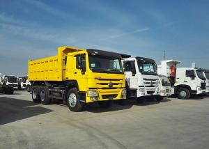China 9.726L Displacement 12 Wheel Dump Truck 2 Valve With 30m³ Cabbage Capacity wholesale