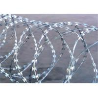 China BTO-22 Barbed 2.5mm Concertina Razor Wire For Farm Fence on sale