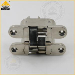China Internal Door 3d Adjsuatble European Italian Hinges Hardware 180 Degree invisible hinge on sale