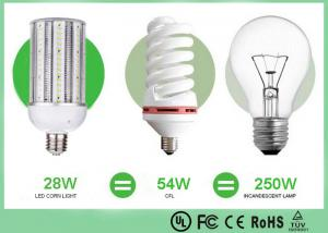 China RA 80 28 W LED HID Replacement Bulbs , Screwed Base LED Corn Bulb on sale