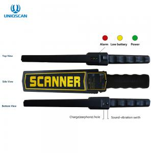 China ABS Material Metal Detector Body Scanner Standard 9V Battery High Sensitivity on sale
