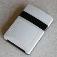 China Programable  Desktop RFID Reader , ABS Smart Card Reader Support Windows System on sale
