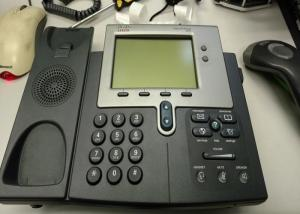 China 2 Lines Used Cisco IP Phones 7941G Higher Resolution Pixel - Based LCD Durable on sale