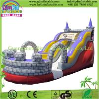 Guangzhou QinDa Bouncy Castle Inflatable, Inflatable Slide with CE