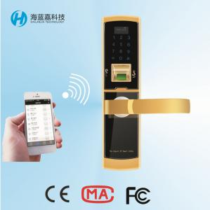 China Hot selling zinc alloy keyless home door locks for wooden and metal door on sale