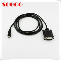 China Custom Molded Cable Assemblies VGA D-SUB 15 Pin Male To Mini USB Male 5 Pin Cable on sale