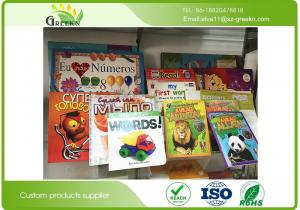 China Environmental Ink Printing Personalised Childrens Board Bookswith Duplex Board Paper Type on sale