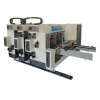 Corrugated Carton Small Box Printing Slotting Machine / Carton Making Printing Slotting Machine