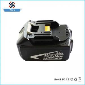 China Power Tool Battery Replacement 18V 3000mAh Li-ion for Makita Bl1830 on sale