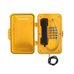 China Industrial Telephone with Keypad, VoIP Weatherproof Telephone Manufacturer on sale
