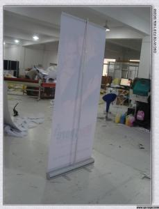 China aluminum roll up standee for advertisment display on sale