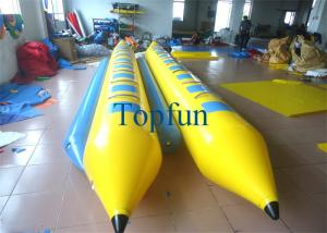China Double Line Inflatable Banana Boat for 7 Persons / Inflatable Banana Drafting Boats on sale