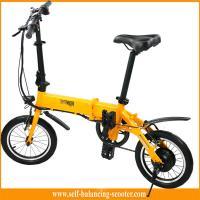 Transporter Lightest Folding Bike 2 Wheel Electric Scooter With LED Light For Tourist